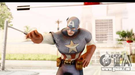 Marvel: Ultimate Alliance 2 - Captain America pour GTA San Andreas