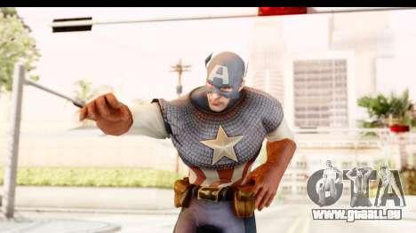 Marvel: Ultimate Alliance 2 - Captain America für GTA San Andreas