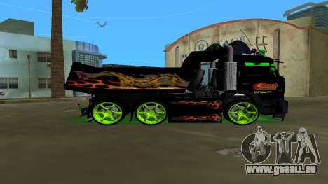 KAMAZ 65115 TUNING für GTA Vice City linke Ansicht