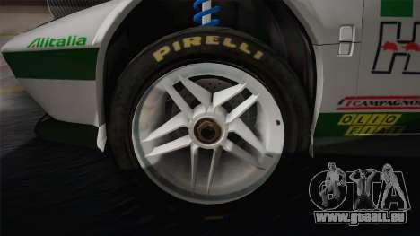 Lancia Stratos für GTA San Andreas Innenansicht