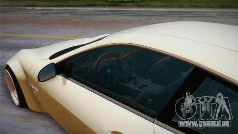 Maserati Gran Turismo Rocket Bunny für GTA San Andreas Rückansicht