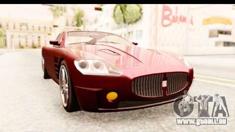GTA EFLC TBoGT F620 v2 IVF für GTA San Andreas