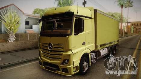 Mercedes-Benz Actros Mp4 v2.0 Tandem Big pour GTA San Andreas