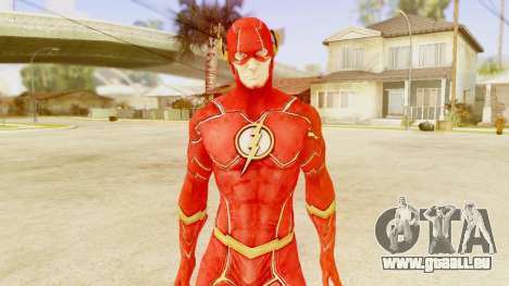 Injustice God Among Us Flash New 52 Edited Model pour GTA San Andreas troisième écran
