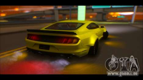 Ford Mustang 2015 Liberty Walk LP Performance pour GTA San Andreas vue de côté