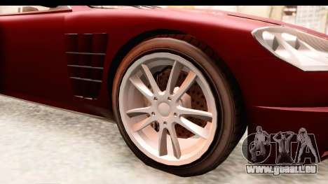 GTA EFLC TBoGT F620 v2 IVF pour GTA San Andreas vue arrière
