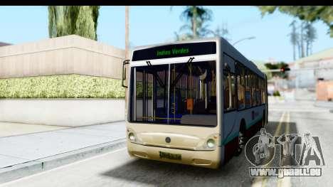 Metrobus de la Ciudad de Mexico für GTA San Andreas rechten Ansicht