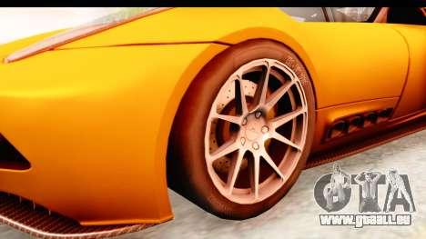 Lucra L148 2016 pour GTA San Andreas vue arrière