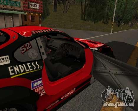 D1GP Toyota Supra Hadaka Supra JZA80 pour GTA San Andreas vue de droite