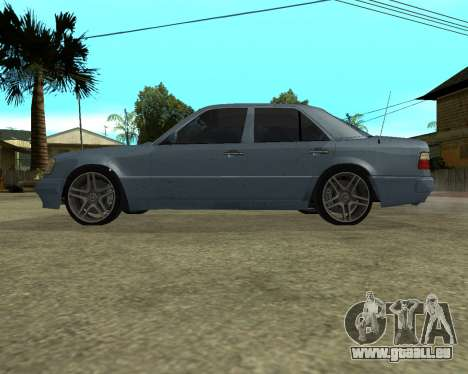 Mersedes-Benz E-500 Armenian für GTA San Andreas Unteransicht