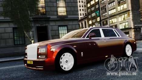 Rolls-Royce Phantom EWB 2013 pour GTA 4 Vue arrière