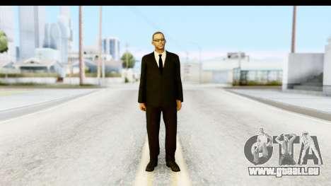 Will Smith MIB für GTA San Andreas zweiten Screenshot