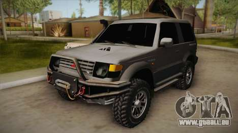 Mitsubishi Pajero 3-Door Off-Road für GTA San Andreas