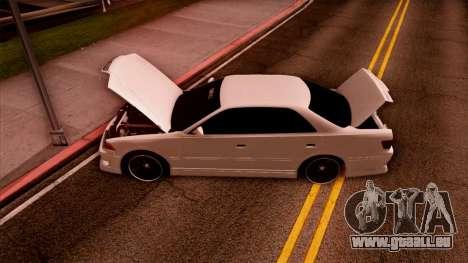 Toyota Mark II pour GTA San Andreas vue de côté