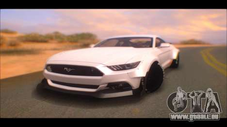 Ford Mustang 2015 Liberty Walk LP Performance pour GTA San Andreas