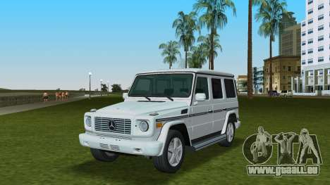 Mercedes-Benz G500 W463 2008 für GTA Vice City