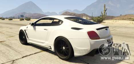 Undercover Bentley Continetal GT 1.0 für GTA 5