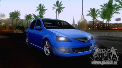 Dacia Logan Cocalar Edition für GTA San Andreas