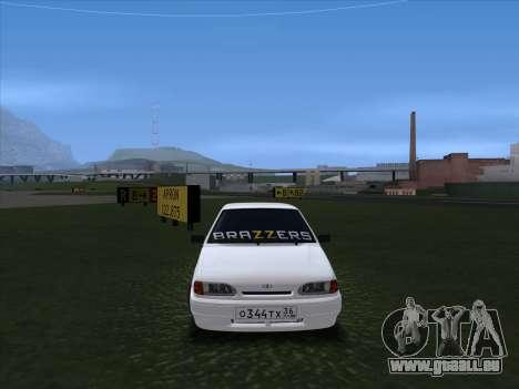 2115 pour GTA San Andreas laissé vue