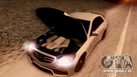 Mercedes-Benz Е63 für GTA San Andreas obere Ansicht