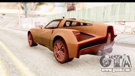 Spada Codatronca TS pour GTA San Andreas laissé vue