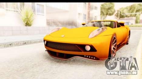 Lucra L148 2016 pour GTA San Andreas