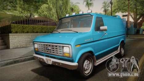 Ford E-150 Commercial Van 1982 2.0 pour GTA San Andreas