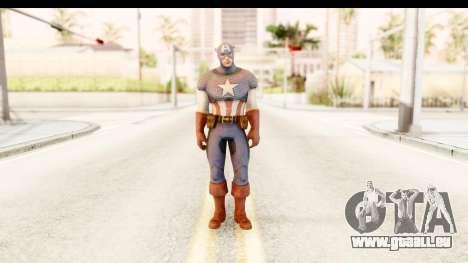 Marvel: Ultimate Alliance 2 - Captain America für GTA San Andreas zweiten Screenshot