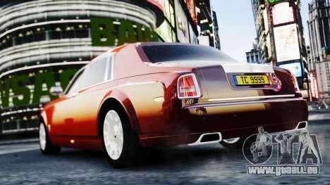 Rolls-Royce Phantom EWB 2013 pour GTA 4 est une gauche