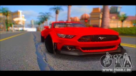 Ford Mustang 2015 Liberty Walk LP Performance pour GTA San Andreas vue de droite