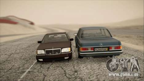Mercedes-Benz 240D für GTA San Andreas rechten Ansicht