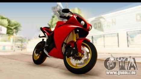 Yamaha R1 2014 pour GTA San Andreas