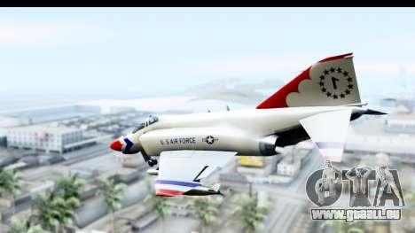 F-4 Phantom II Thunderbirds für GTA San Andreas linke Ansicht