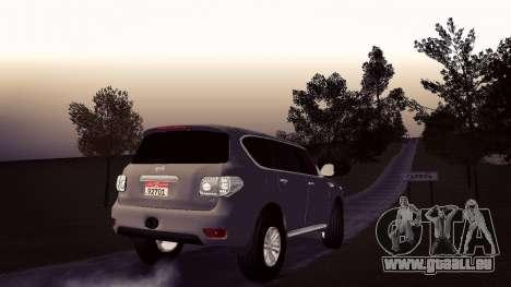 Nissan Patrol pour GTA San Andreas laissé vue