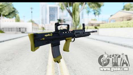 L85 pour GTA San Andreas deuxième écran