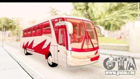 Smaga Bus für GTA San Andreas rechten Ansicht