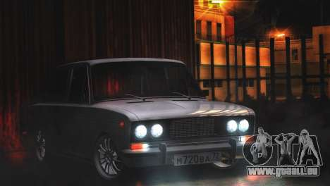 VAZ 2106 Steele pour GTA San Andreas laissé vue