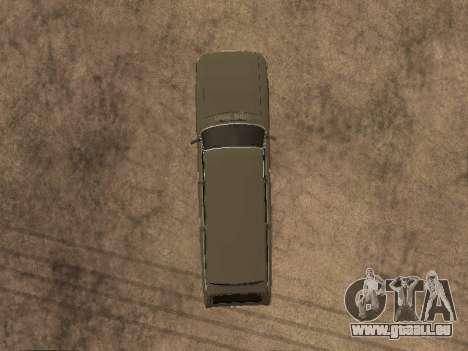 GAS-31022 für GTA San Andreas Innenansicht
