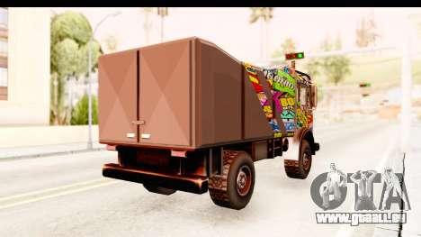 Sticker Bomb Dune pour GTA San Andreas vue de droite