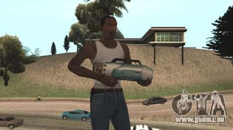 Spudgun from Bully SE pour GTA San Andreas cinquième écran