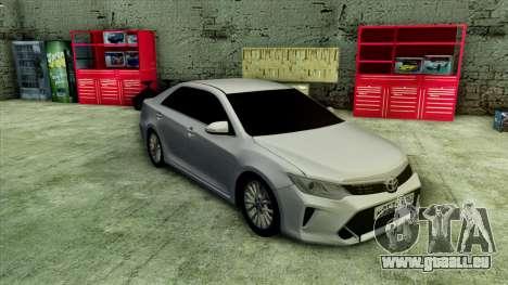 Toyota Camry 2016 v.2 pour GTA San Andreas laissé vue