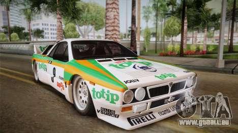 Lancia Rally 037 Stradale (SE037) 1982 IVF Dirt2 pour GTA San Andreas