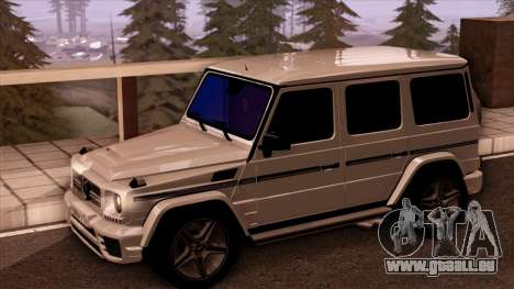 Mercedes-Benz G65 pour GTA San Andreas vue de droite