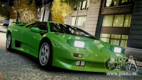 Lamborghini Diablo VT 1990 pour GTA 4 est un droit