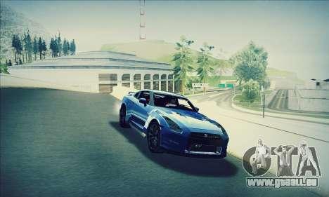 Nissan GT-R R35 Premium pour GTA San Andreas