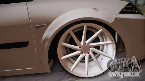 Renault Megan pour GTA San Andreas vue de droite