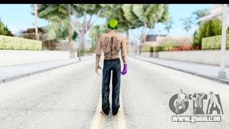 Suicide Squad - Joker v1 pour GTA San Andreas troisième écran