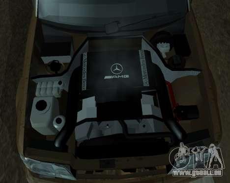 Mersedes-Benz E-500 Armenian für GTA San Andreas Motor
