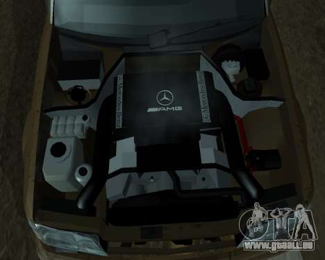 Mersedes-Benz E-500 Armenian pour GTA San Andreas moteur