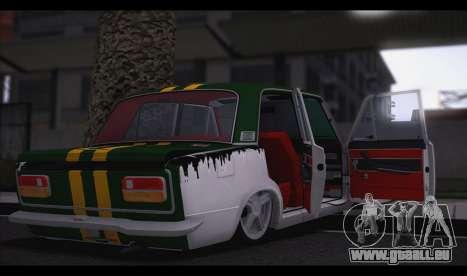 VAZ 2103 Bête pour GTA San Andreas sur la vue arrière gauche